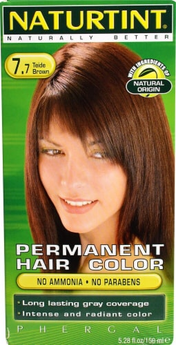 Naturtint Permanent Hair Color -  7.7 Teide Brown Perspective: front