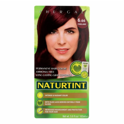 Naturtint Permanent Hair Color - 6.66 Fireland Perspective: front