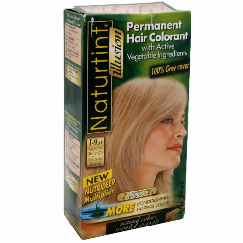 Naturtint Hair Color Sandy Blonde Perspective: front