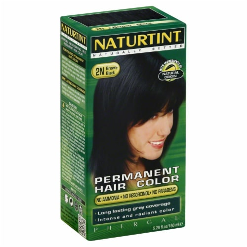 Naturtint Black Brown Hair Color Perspective: front