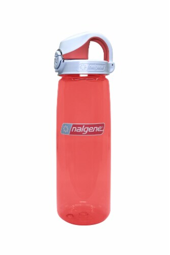Nalgene Water Bottle - Coral / Frost Coral Perspective: front