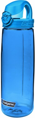 Nalgene Water Nottle - Blue / Glacial Perspective: front
