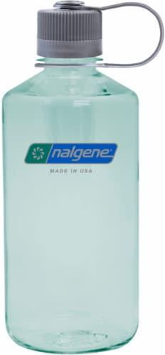 Nalgene Narrow Mouth Water Bottle - Seafoam Perspective: front