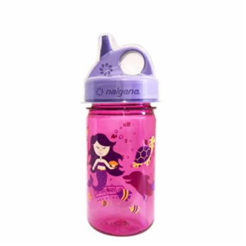 Nalgene NAL-2182-2812 Grip-n-Gulp with Cover, Mermaid - Pink Perspective: front