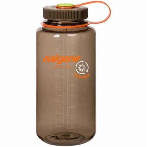 Nalgene 341956 1 qt. Wide Mouth Sustain Water Bottle, Woodsman Perspective: front