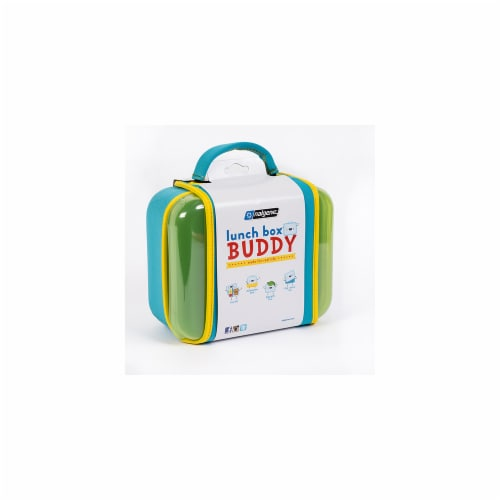 Nalgene Lunch Box  Blue Perspective: front