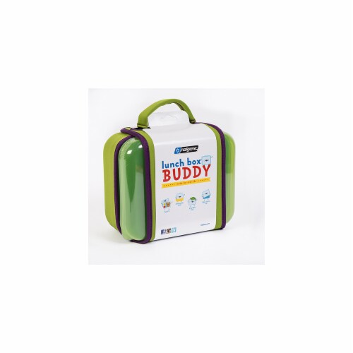 Nalgene Lunch Box  Green Perspective: front