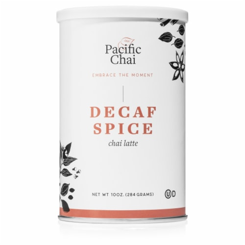 Pacific Chai Decaf Spice Latte Perspective: front