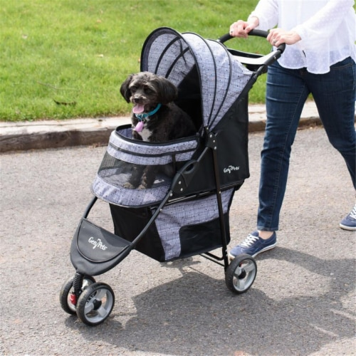 Regal Plus Pet Stroller, Starry Night Perspective: front