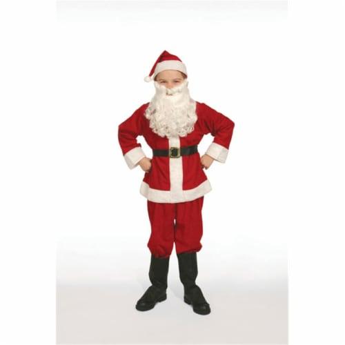 Economy Child Santa Suit- Size 12 Perspective: front
