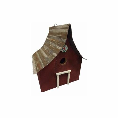 Birdsboro Birdhouse, Red Perspective: front