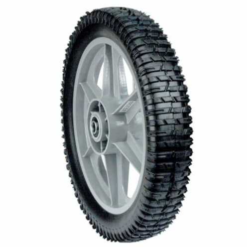 12 in. Plastic Spoked Wheel Perspective: front