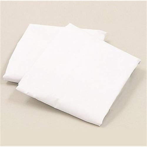L A BABY 3009-MT Knitted Fitted Sheet For Full Size Crib Natural 100% Cotton Fabric- Mint Perspective: front