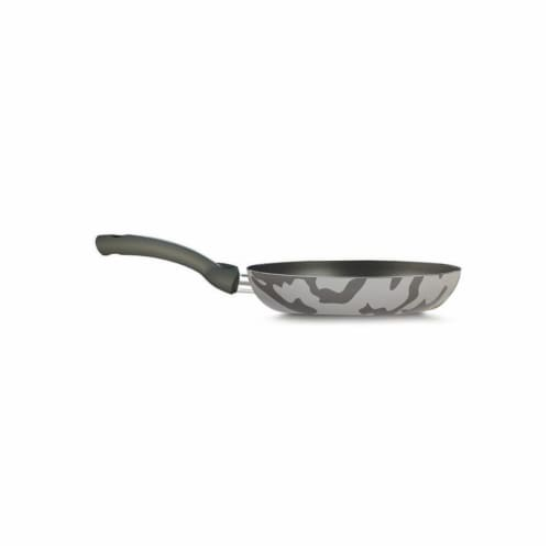 Lancaster Commercial Products  Camouflage Bio-Ceramix Nonstick High Fry Pan – 9.5 in. Perspective: front