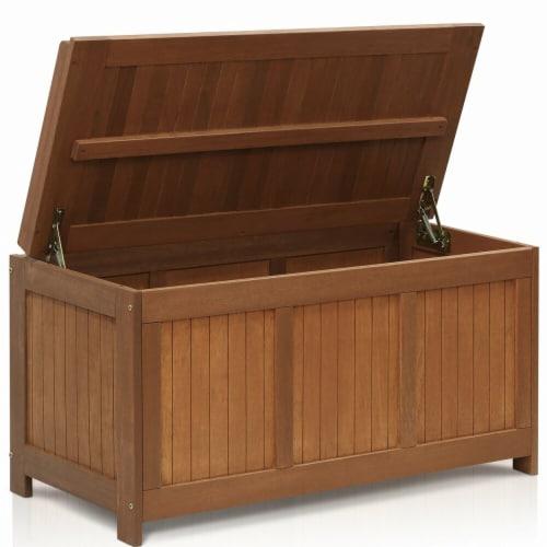 Tioman Outdoor Hardwood Deck Box Perspective: front