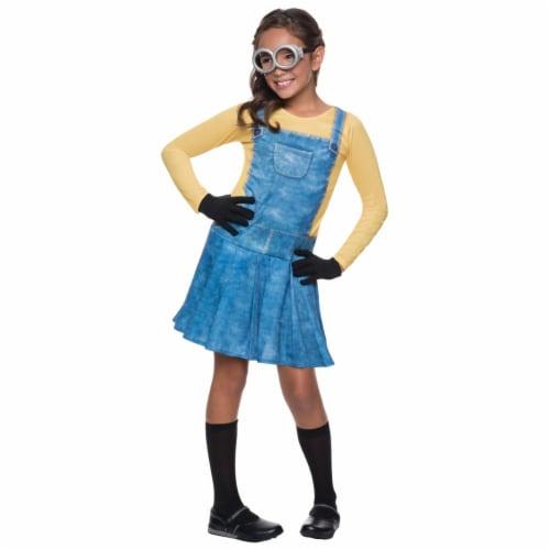Minion Child Female Costume, Small Perspective: front
