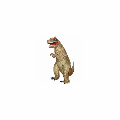 Dinosaur T-Rex Inflatable Kids Costume Fancy Dress, One Size Perspective: front