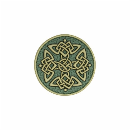 Celtic Cross Patch - Glow Perspective: front