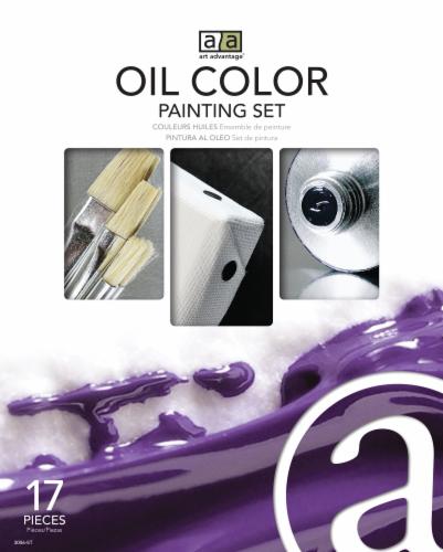 Art Advantage Oil Color Paint Set Perspective: front