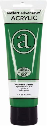 Art Advantage Acrylic Paint - Hooker's Green Perspective: front