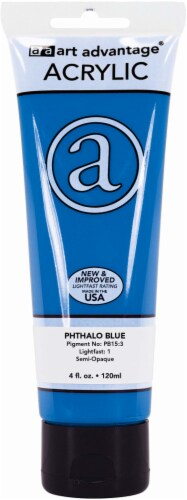 Art Advantage Acrylic Paint - Phthalo Blue Perspective: front