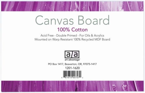 Art Advantage Canvas Boards - 3 Pack Perspective: front