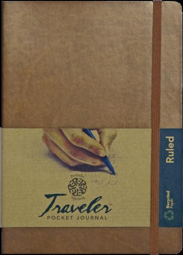 Pentalic Traveler Pocket Journal Perspective: front