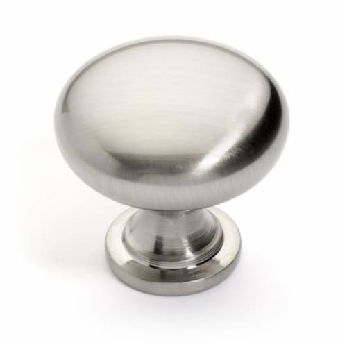 Dynasty Hardware FH-2032-SN Super Saver Classic Cabinet Knob, Satin Nickel Perspective: front