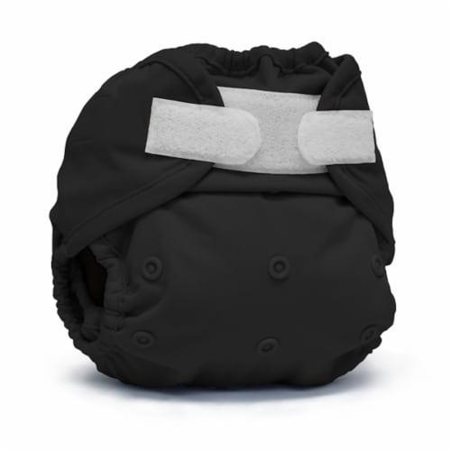Kanga Care Rumparooz One Size Reusable Cloth Diaper Cover Aplix Phantom 6-35 lbs Perspective: front