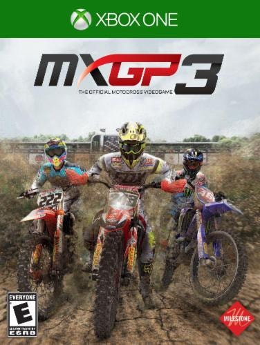 The Official Motocross Videogame Microsoft Xbox One Perspective: front