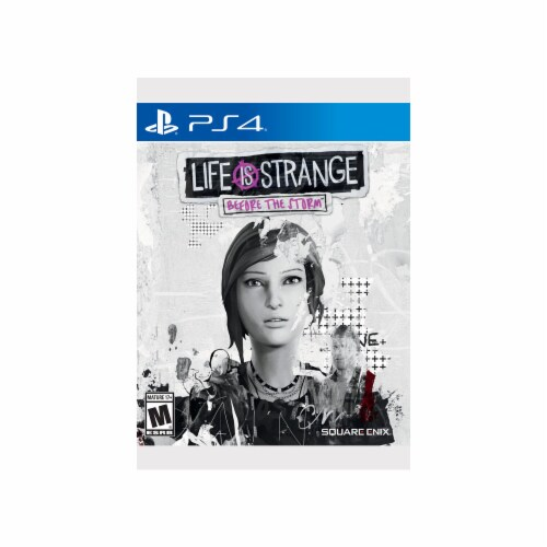 Life is Strange Before the Storm (Play Station 4) Game Perspective: front