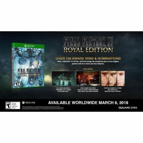 Final Fantasy XV Royal Edition (XBox 1) Perspective: front