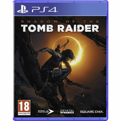 Shadow of the Tomb Raider Standard Edition PS4 Perspective: front