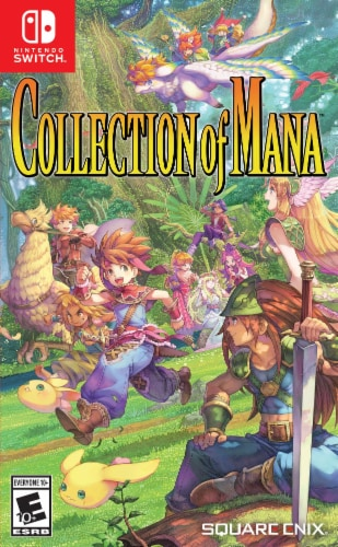 Collection of Mana (Nintendo Switch) Perspective: front