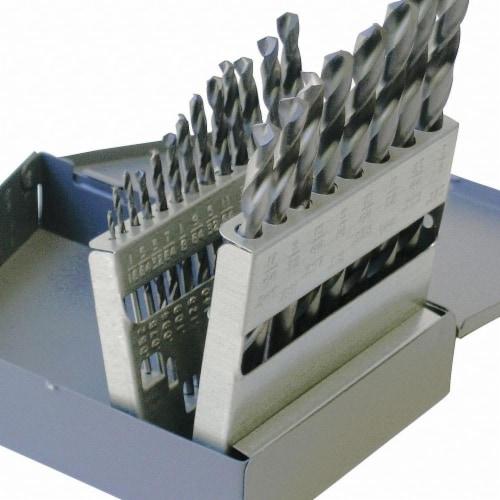Chicago-Latrobe Jobber Drill Set,21 pc,HSS HAWA 43639 Perspective: front
