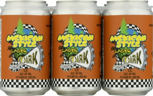 Ska Brewing Mexican Logger Lager Perspective: front