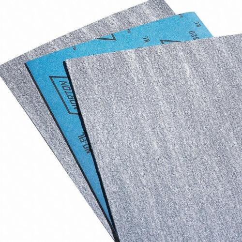 Norton Sanding Sheet,11x9 In,220 G,SC,PK100 HAWA 66254487398 Perspective: front