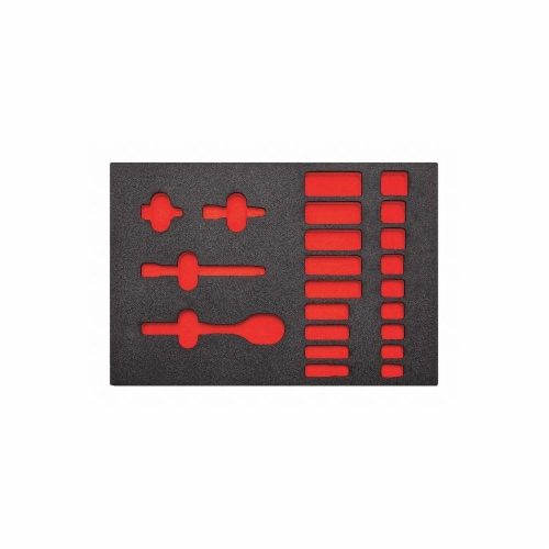 Proto Black/Red,Tool Storage Foam Inserts,Poly Perspective: front