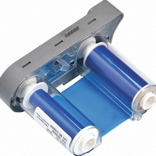 Brady Thermal Transfer Printer Ribbon,Blue  R4410-BL Perspective: front