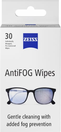 ZEISS Anti-Fog Wipes Perspective: front