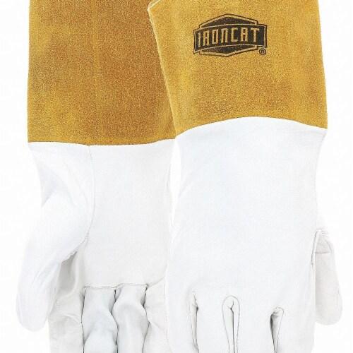 Ironcat Welding Gloves,TIG,14 ,L,PR  6141/L Perspective: front