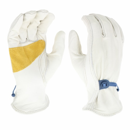 West Chester Premium Cowhide Leather Gloves Perspective: front