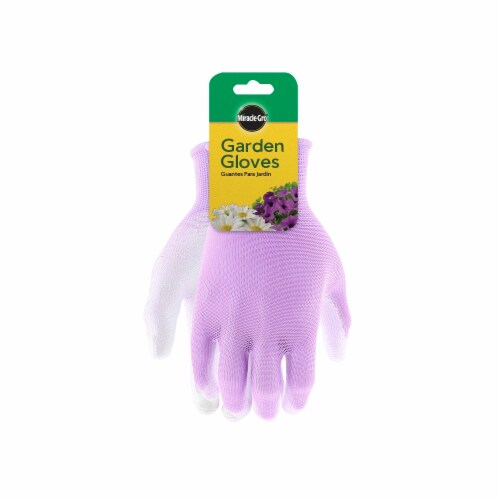 Miracle Gro® Water Resistent Gloves - Pink Perspective: front