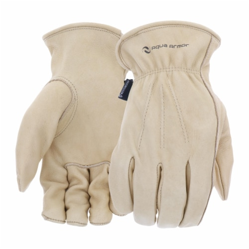 West Chester XL Water Resistant Cowhide Glove Perspective: front