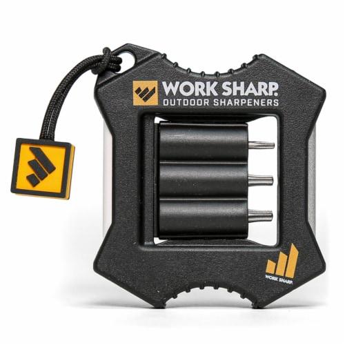 Work Sharp 8036181 EDC Ceramic & Diamond Micro Sharpener & Knife Tool Perspective: front