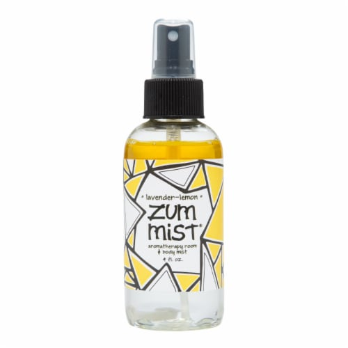 Zum Mist Lavender-Lemon Aromatherapy Room & Body Mist Perspective: front