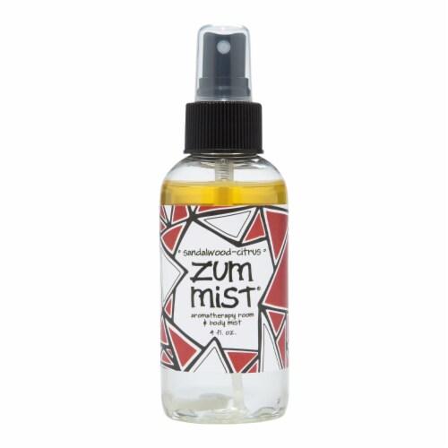 Zum Mist Sandalwood-Citrus Aromatherapy Room & Body Mist Perspective: front