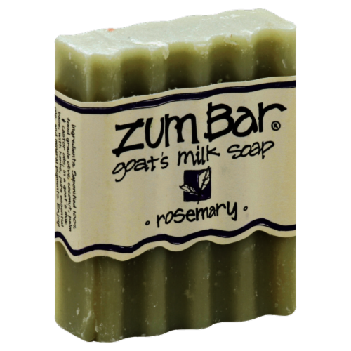 Zum Bar Rosemary Goat's Milk Soap Perspective: front