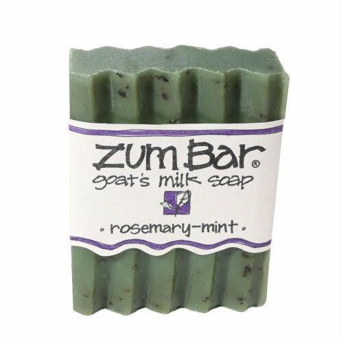 Zum Bar Rosemary-Mint Soap Perspective: front
