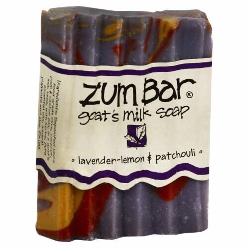 Zum Lavender Lemon Patchouli Soap Perspective: front